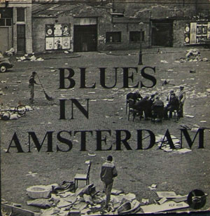 LP-hoes van Blues in Amsterdam